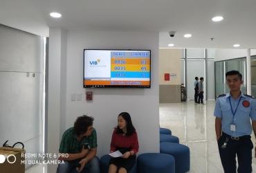 Hệ thống xếp hàng tại Ngân Hàng TMCP Quốc Tế VN (VIB) - CN Đắk Lắk